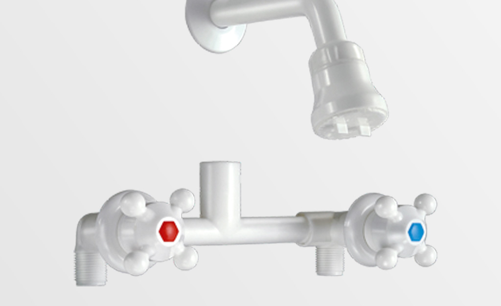 Mezcladora ducha embutir