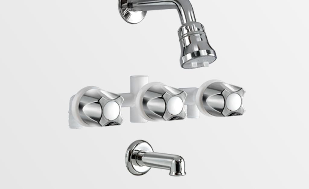 Mezcladora ducha con transferencia